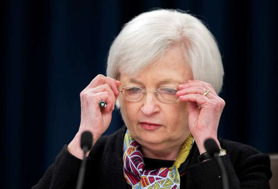 """Janet Yellen says the Federal Reserve feels """"we are on a course where the economy is improving.""""  Photo: Manuel Balce Ceneta, STF / AP"""
