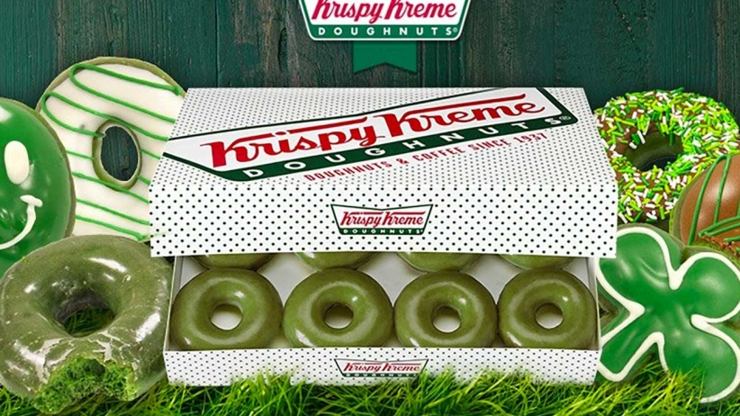Green donuts coming to Krispy Kreme for St. Patrick's Day