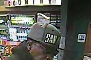 Police are looking for this man suspected of robbing a Valero convenience store at 12070 Blanco Road on March 12, 2016.