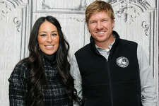 """Designers Joanna Gaines and Chip Gaines attend AOL Build Presents: """"Fixer Upper"""" at AOL Studios In New York on December 8, 2015 in New York City."""
