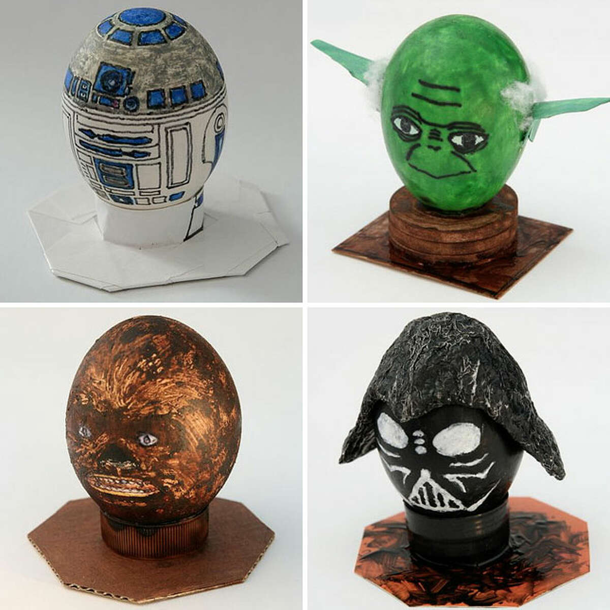 May the force be with you on your hunt. Decorating Easter eggs has been taken to the next level. Just look at these eggs from Smile! Mermaid.