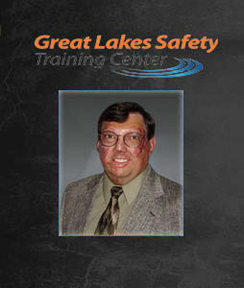 Brad Livingston is shown is this graphic from the Great Lakes Safety Training Center website.