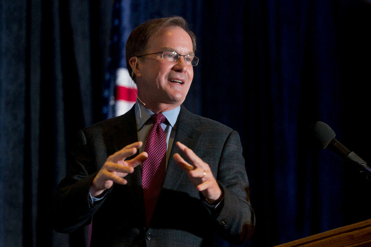 """Michigan Attorney General Bill Schuette accused the Obama administration of """"another ... federal overreach"""" that bypasses parents, schools and Congress after Michigan joined several other states suing federal government over restrooms transgender students can use."""