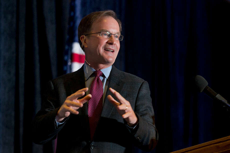 "Michigan Attorney General Bill Schuette accused the Obama administration of ""another ... federal overreach"" that bypasses parents, schools and Congress after Michigan joined several other states suing federal government over restrooms transgender students can use. Photo: Daily News File Photo"