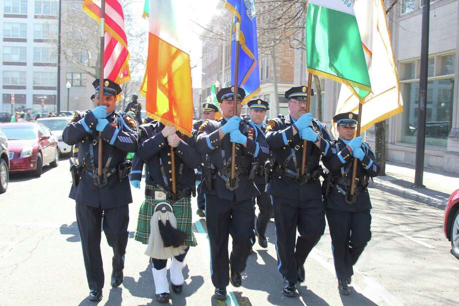 The Greater Bridgeport St. Patrick's Day Parade will take place on Friday, starting at noon and proceeding up Broad Street to Fairfield Avenue and down Main Street to South Frontage Road. Find out more. Photo: Derek T.Sterling, Hearst Connecticut Media