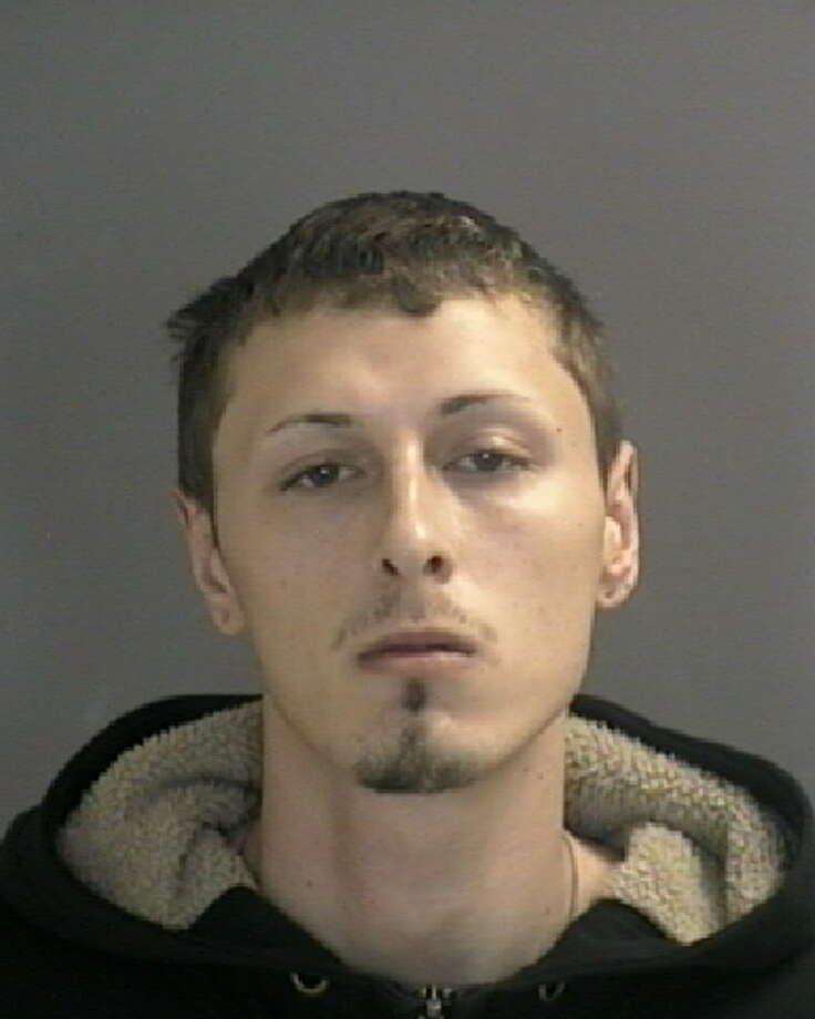 Frederick Basile, 23, was charged with public lewdness and is in custody in Albany County Jail. (Photo: Colonie Police).