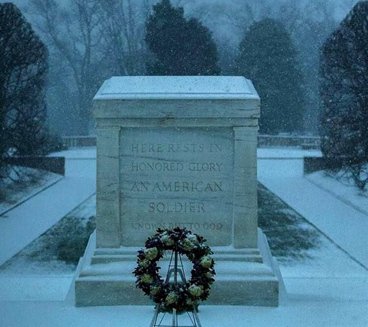 Tomb of the Unknown Soldier at Arlington National Cemetery, Va., on Saturday.
