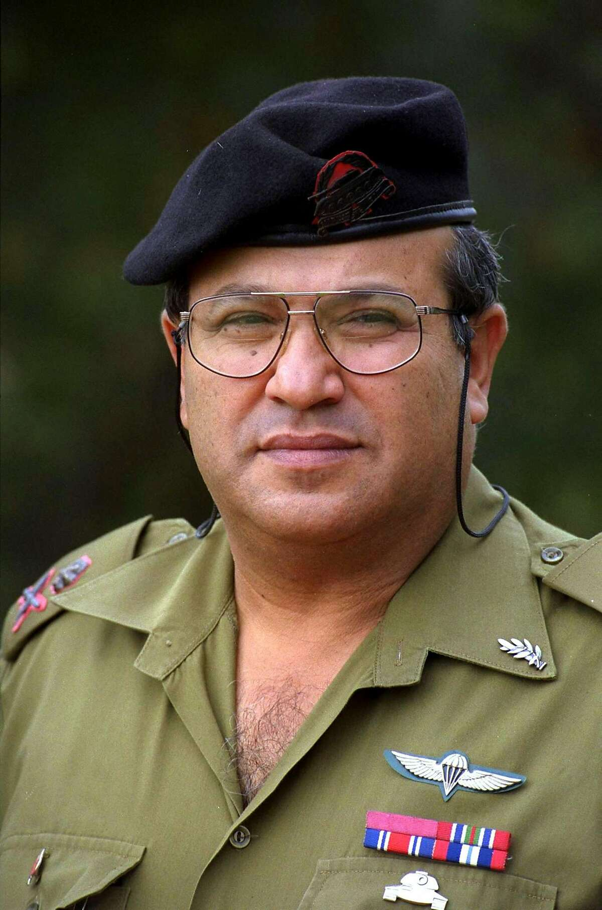 JERUSALEM, ISRAEL- SEPTEMBER 10: Meir Dagan, shown in this undated photo wearing his rank and his two citations for bravery, was appointed as the Director of the Mossad by Israeli Prime Minister Ariel Sharon September 10, 2002 in Jerusalem, Israel. Dagan, 55, who is closely aligned with Sharon and whose appointment is causing controversy in Israel, served in the IDF for 32 years, retiring with the rank of Major-General. (Photo by Yaakov Saar/GPO/Getty Images)