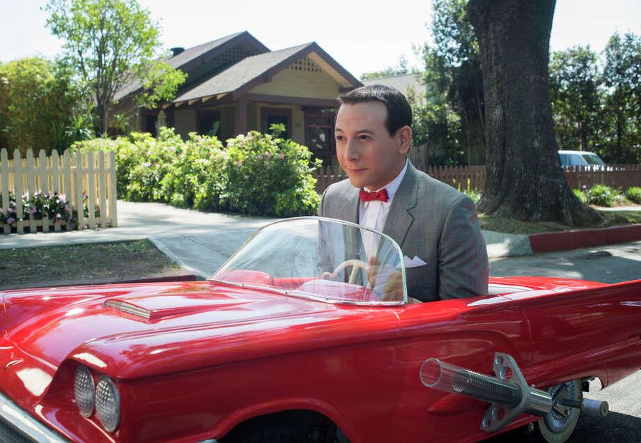 "Paul Reubens returns as Pee-wee Herman, who embarks on a trip to New York in the Netflix film ""Pee-wee's Big Holiday."" Photo: Glen Wilson/Netflix / Glen Wilson / Netflix"