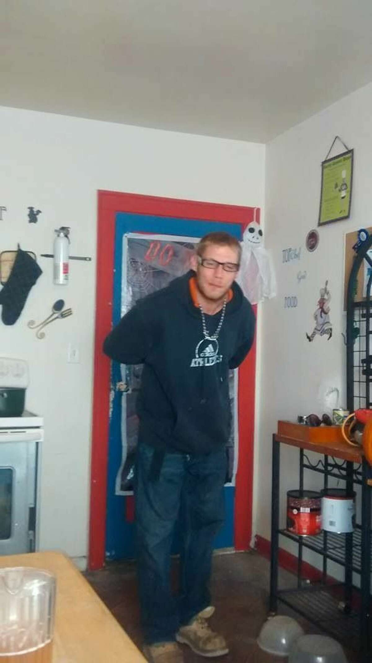 Matthew Schlicker is shown in thisphoto provided by the Midland Police Department.