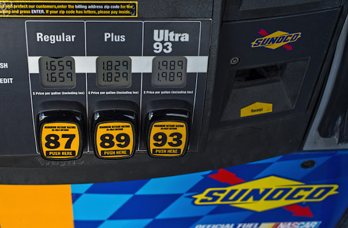 The Cost of Gas the Year You Were Born