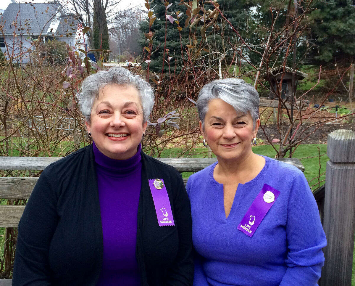 Donna Frawley and Laura LaLonde were recently awarded Michigan Garden Clubs Inc. State Life Memberships for the many years of service they have provided the community of Midland through the club.