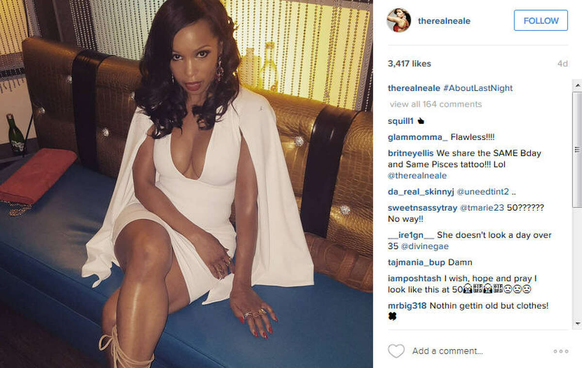 Elise Neal shared photos from her 50th birthday looking completely flawless. Keep clicking to see other sexy celebs who are 50 years old or older. Photo by: Instagram/therealneale