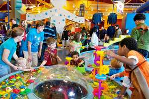 Visitors are seen at the Mid-Michigan Children's Museum in Saginaw in this Daily News file photo. The children's museum has several activities planned during the holidays.