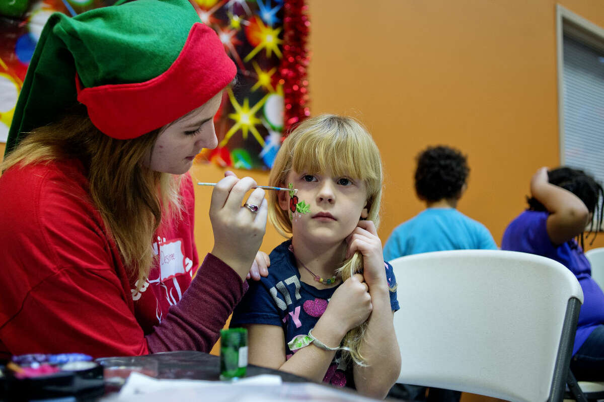 A child has her face painted during last year's Jayden Lamb's Toy Store/Breakfast with Santa event at Messiah Lutheran Church. This year, the event is planned for Saturday, Dec. 12, from 9 a.m. to noon.