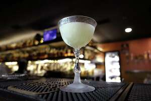 A white mule cocktail at Bar 1919.