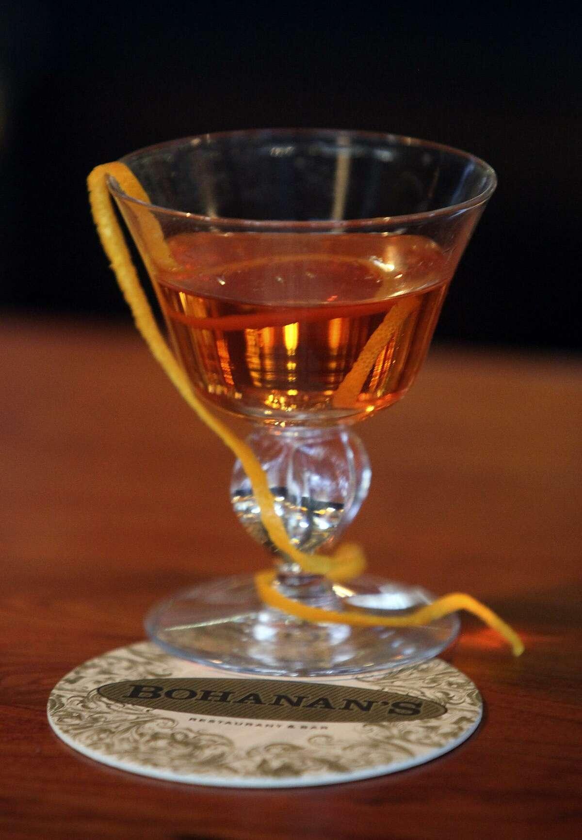 The beverage sazerac is served at Bohanan's on February 25, 2010. Tom Reel/Staff
