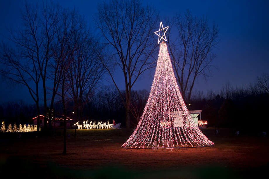 The Freeland Lights Show is shown in a Daily News file photo. Photo: Neil Blake | Midland Daily News