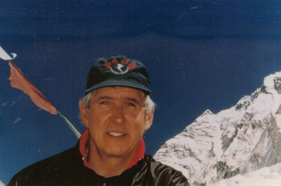 Veteran climber Lou Kasischke is shown on Mount Everest in 1996. Photo: Photo Provides