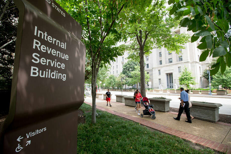 The Internal Revenue Service (IRS) Building in Washington is shown. Photo: Andrew Harnik | AP Photo