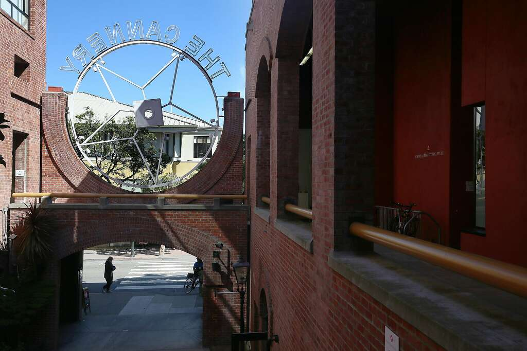 The Academy Of Art University At The Cannery In San Francisco, California,  Viewed On
