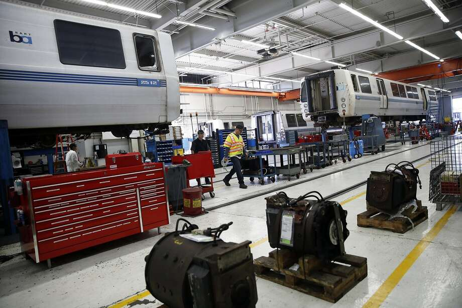 BART maintenance facility in Concord, Calif., on Thursday, March 17, 2016. Photo: Scott Strazzante, The Chronicle
