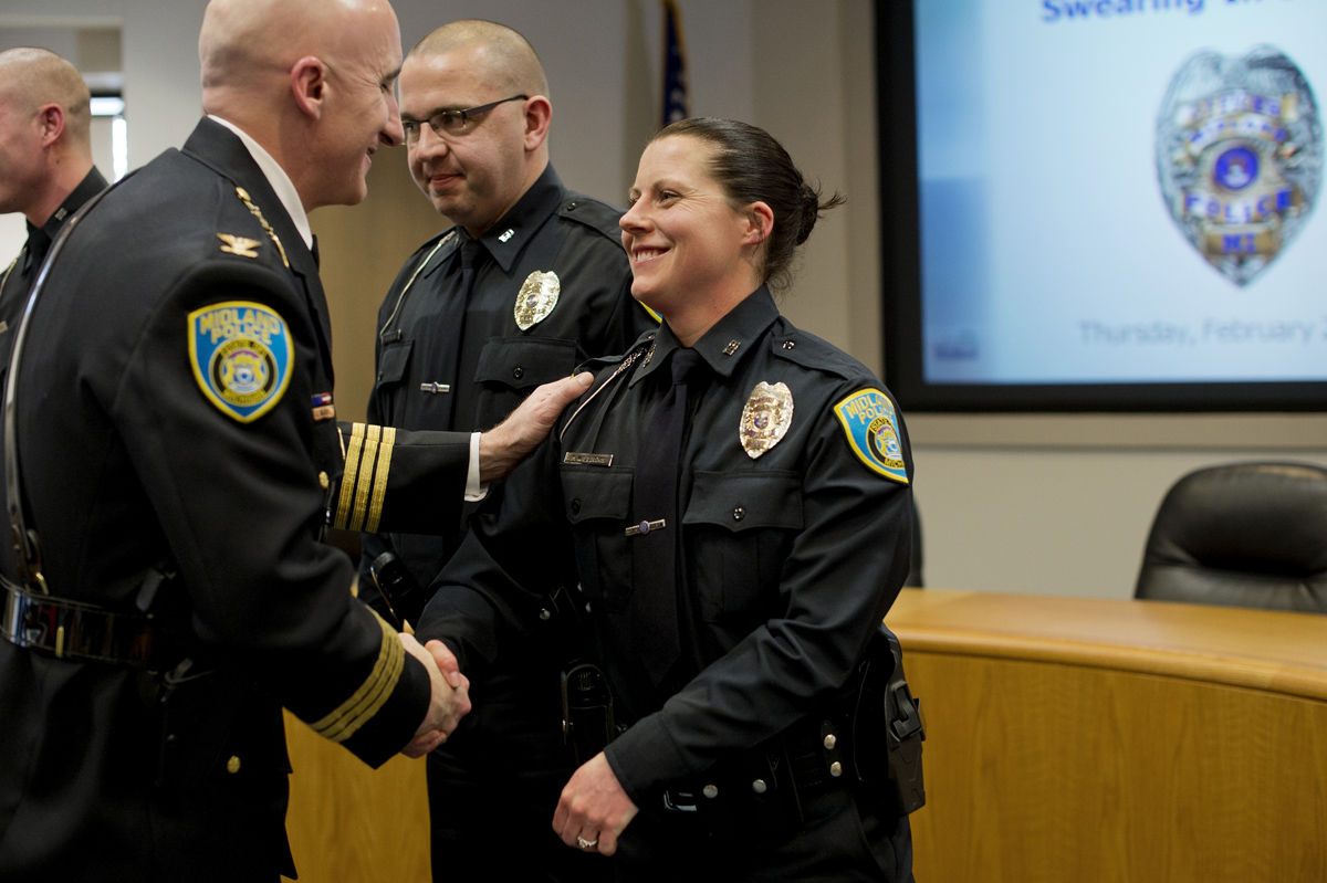 Midland Police welcomes three new officers - Midland Daily News