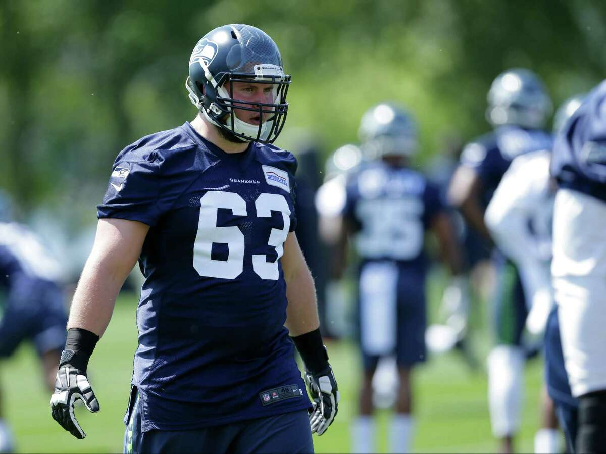 So long, Sweezy Sweezy was undeniably a great story for Seattle after transitioning from college defensive lineman to a starting NFL guard spot during his rookie season. But after seeing the Tampa Bay Buccaneers pay $32.5 million over five years for his services, it seems like the Seahawks made the right move by not bringing him back. 2015 fourth-round pick Glowinski (above) performed well in his lone start his rookie season -- a 36-6 blowout win over Arizona on the road -- showing enough in that game to earn rave reviews from Carroll and offensive line/assistant head coach Tom Cable. With Sweezy gone, he will likely be the front-runner for the starting right guard spot. If Glowinski plays as well as he did versus the Cardinals, this switch could be a net gain for Seattle as soon as next season.