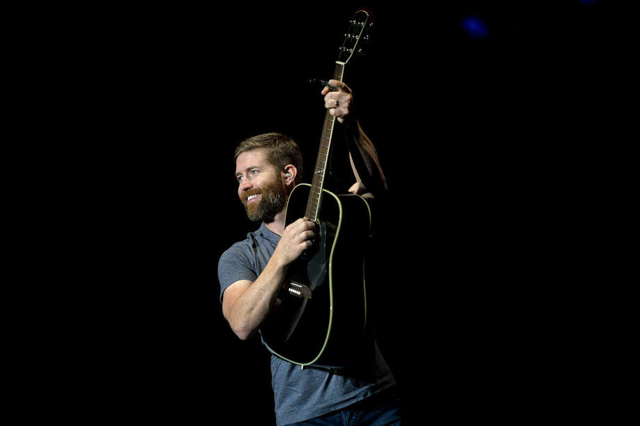 Country artist Josh Turner performs on Monday in the Grandstand at the Midland County Fair. Photo: Nick King | Nking@mdn.net