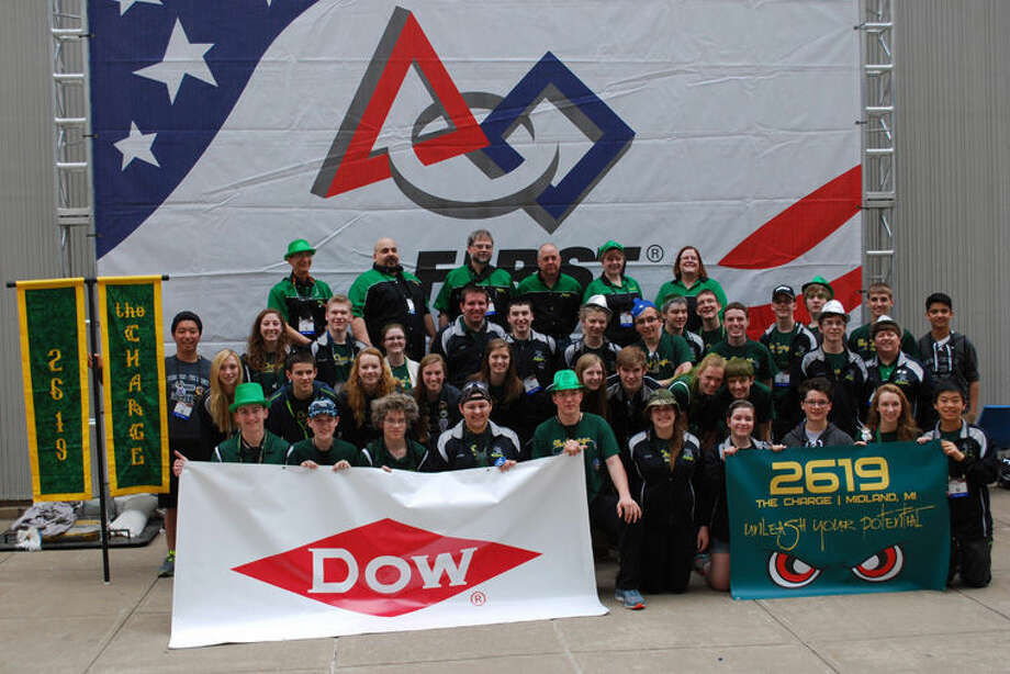 Dow High Robotics Team 2619, The Charge. Photo: Photo Provided