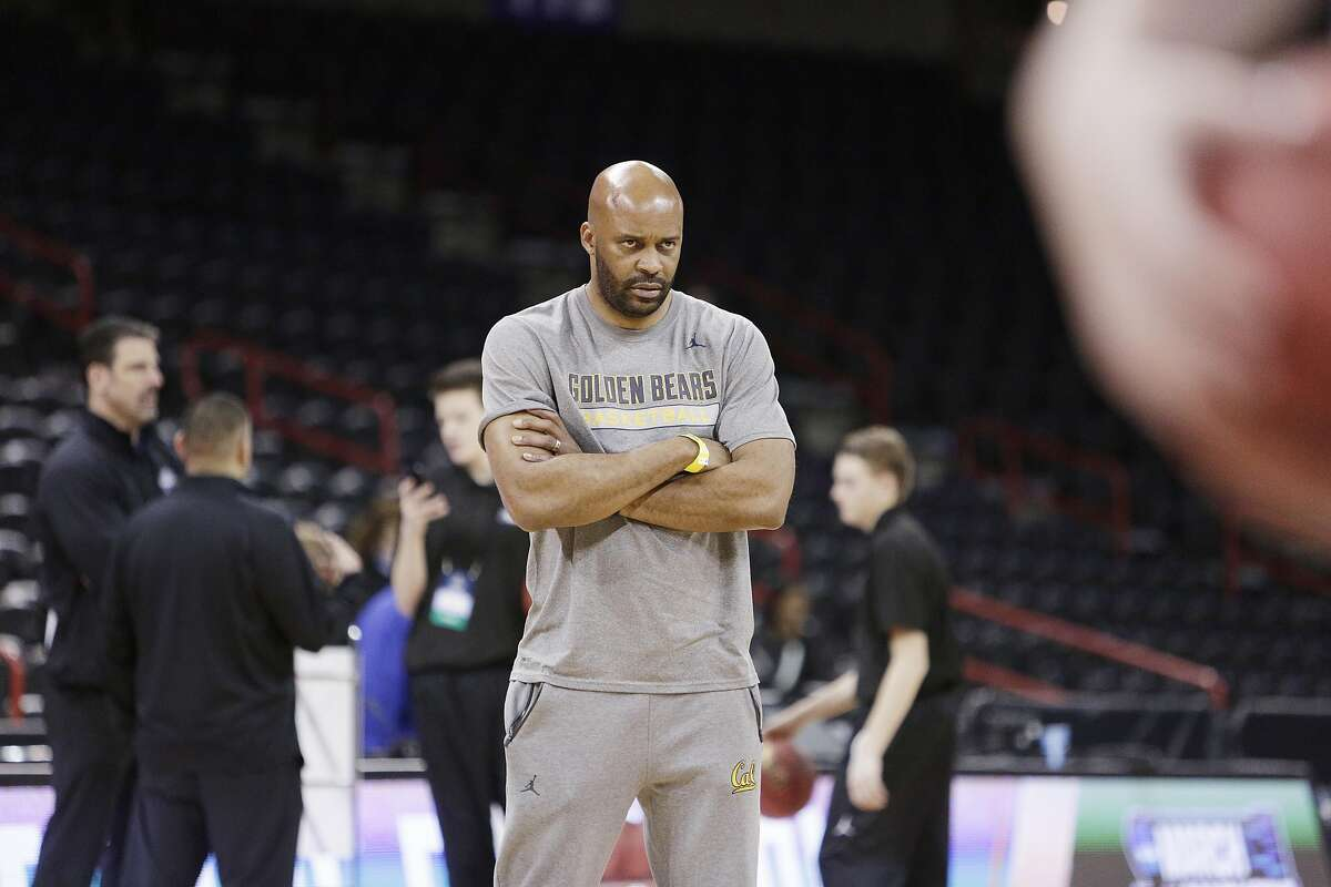 California head coach Cuonzo Martin watches his team during practice a day before a first round men's college basketball game against Hawaii in the NCAA Tournament in Spokane, Wash., Thursday, March 17, 2016. (AP Photo/Young Kwak)
