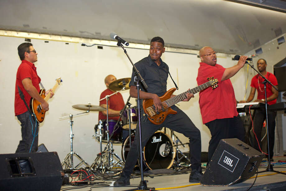 The winning band at the annual ROCK the Tridge event was Elements of Funk. Photo: Rabi Adhikari Photography