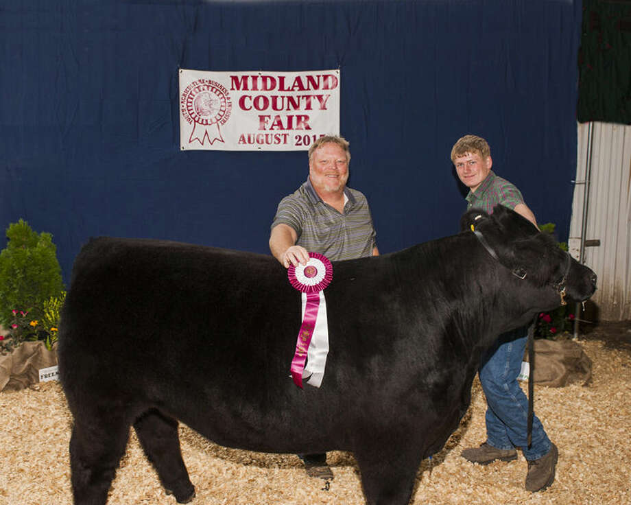 Grand Champion Steer: Raised by Cody Finney Photo: Warner Photography