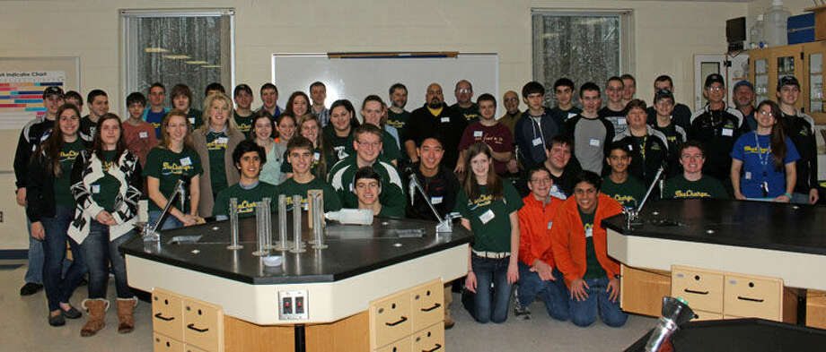 Pictured are members of Team 2619, the Charge at H.H. Dow High School. Photo: Pete Sivia