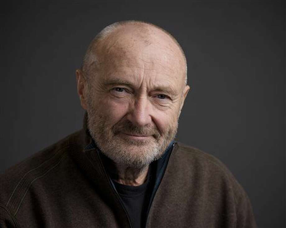 In this Feb. 2, 2016 photo, musician Phil Collins poses for a portrait in New York. The multiple Grammy Award-winner is releasing all eight of his solo albums, each remastered and accompanied by a second CD of demos and live recordings, many previously unreleased. (Photo by Drew Gurian/Invision/AP) Photo: Drew Gurian