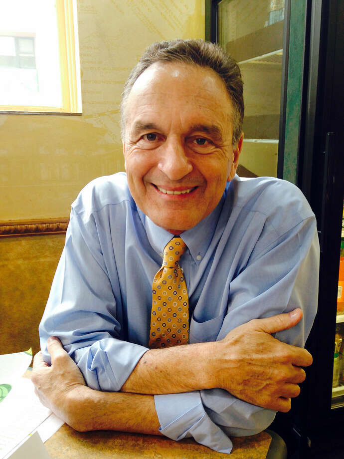Subway co-founder Fred DeLuca is shown in a photo at a Subway restaurant in New York. DeLuca died Monday evening after being diagnosed with leukemia two years ago, the company said Tuesday. He was 67. Photo: Candice Choi | AP Photo