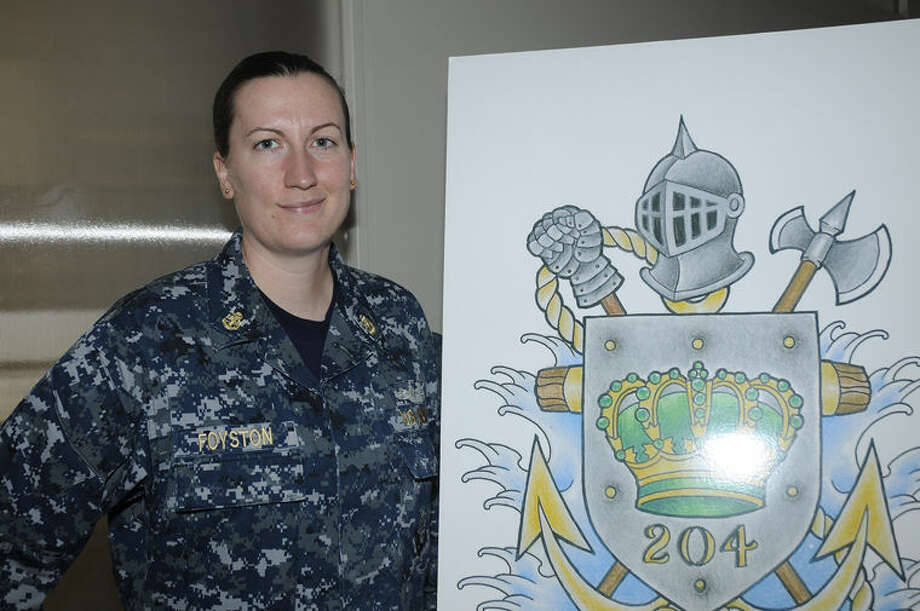 "Chief Petty Officer Heather Foyston is a fire controlman and a member of Crew 204 the ""Royal Punch,"" which serves aboard the Independence variant of littoral combat ships based in San Diego. Photo: Photo Provided"