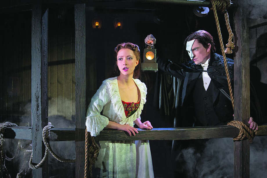 "Katie Travis stars as Christine in the national touring production of ""The Phantom of the Opera."" She will be a speaker at the upcoming Mid Michigan Voice Academy. (Photo Matthew Murphy)"