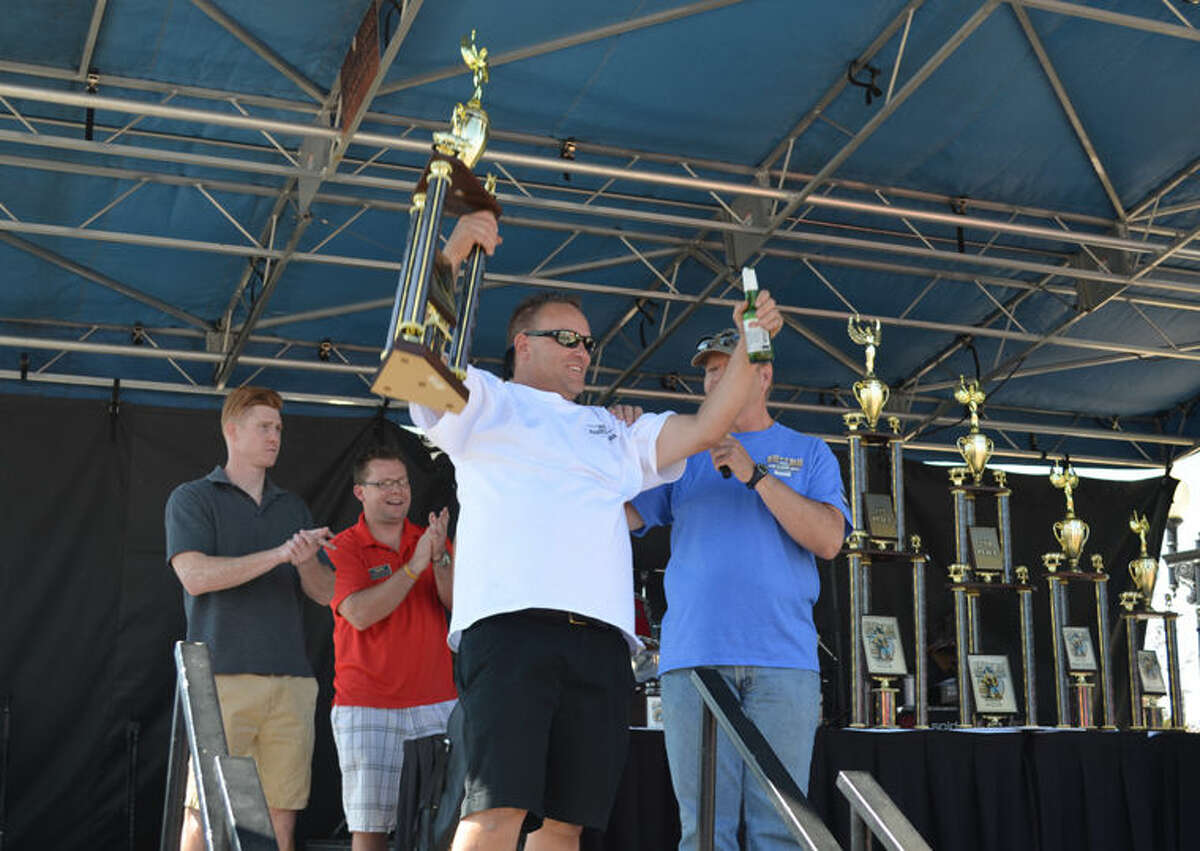 Bone Daddy's BBQ from Midland took first place and People's Choice award at the 27th annual Best in the West Nugget Rib Cook-Off in 2015 in Reno, Nev.