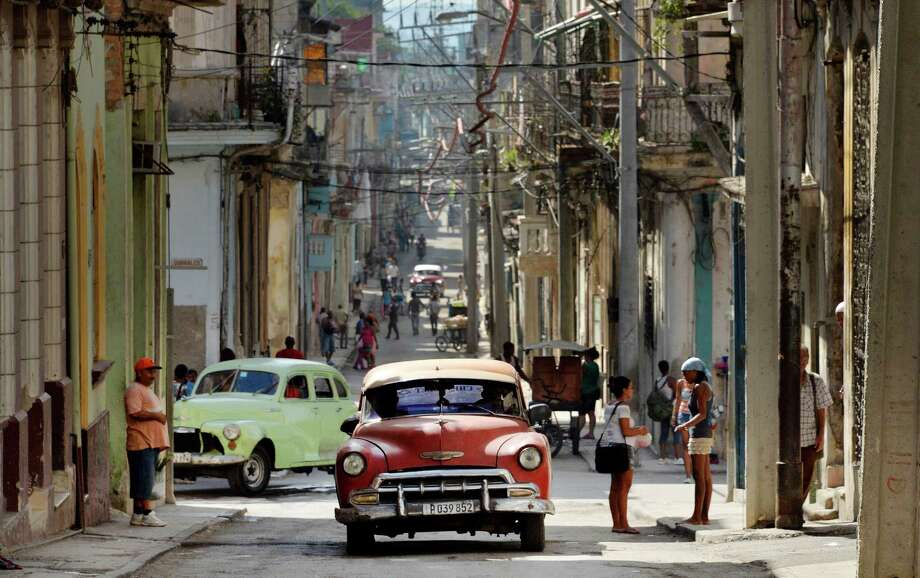 Downtown Havana. Photo: Olivier Douliery, MBR / Abaca Press