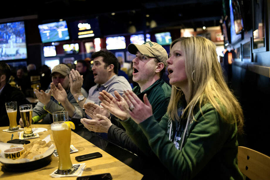Chicken wings:1. Buffalo Wild Wings (pictured).2. The Creek Grill.3. Sanford Lake Bar & Grill. Photo: Nick King/Midland  Daily News