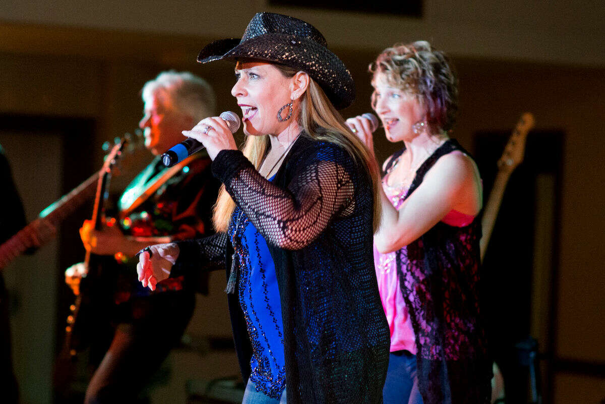 """Judy Harrison and """"ReBooted"""" perform at Swingshift and the Stars."""