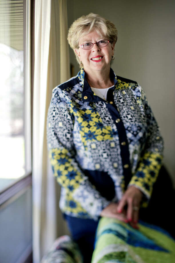 Midland quilter Debra Badour. Photo: Nick King/Midland Daily News