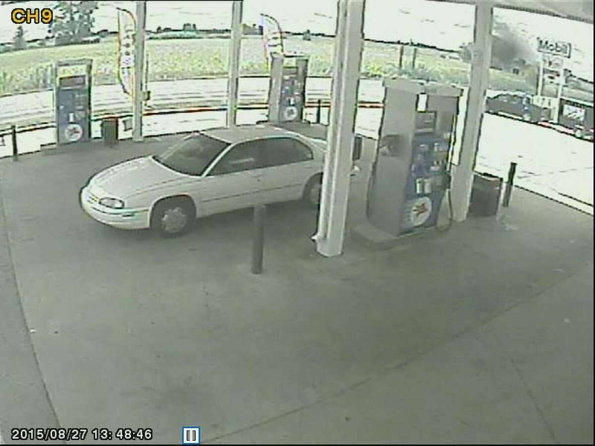 The vehicle pictured is what a woman being sought by the Bay County Sheriff's Department was driving at the time of the incident, the department stated.