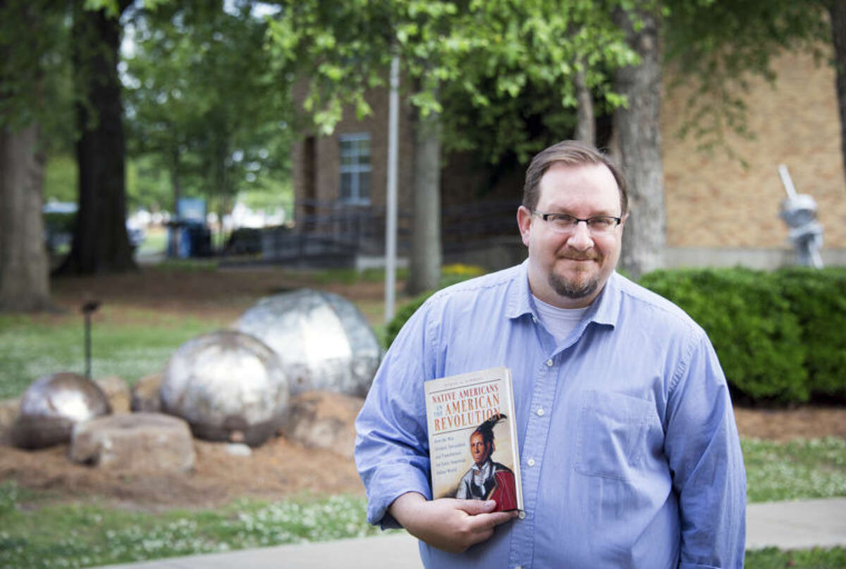 This undated photo provided by Delta State University shows history professor Ethan Schmidt, who was killed Monday at Delta State University in Cleveland, Miss.