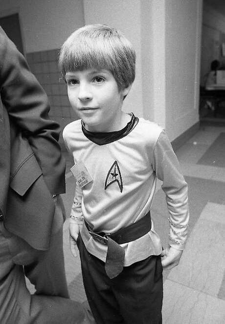 Bret Lee, one of many enthusiasts at the 1976 Star Trek convention in Oakland. Photo: Susan Ehmer, The Chronicle