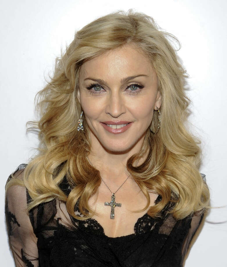 """This file photo shows singer Madonna arriving at Macy's Herald Square to launch her new fragrance in New York. At her concert Thursday in Philadelphia, where Francis is scheduled to make the last stop of his U.S. tour this weekend, a tongue-in-cheek Madonna dedicated a section of her show to him. She later announced: """"Rules are for fools. That's why I like the new pope. He seems very open-minded."""" Photo: Evan Agostina   AP Photo, File"""
