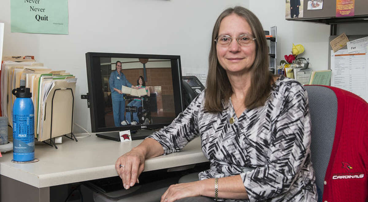 Cynthia Woiderski, SVSU's Disability Services director and a Midland resident, recently received the Michigan Association on Higher Education and Disability's Margaret A. Chmielewski, Ph.D., Memorial Award