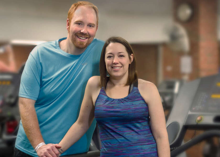 Midland residents Lee and Renee Blanchard are enjoying their new active lifestyle after bariatric surgery. Renee is even training for a half-marathon. Photo: Photo Provided