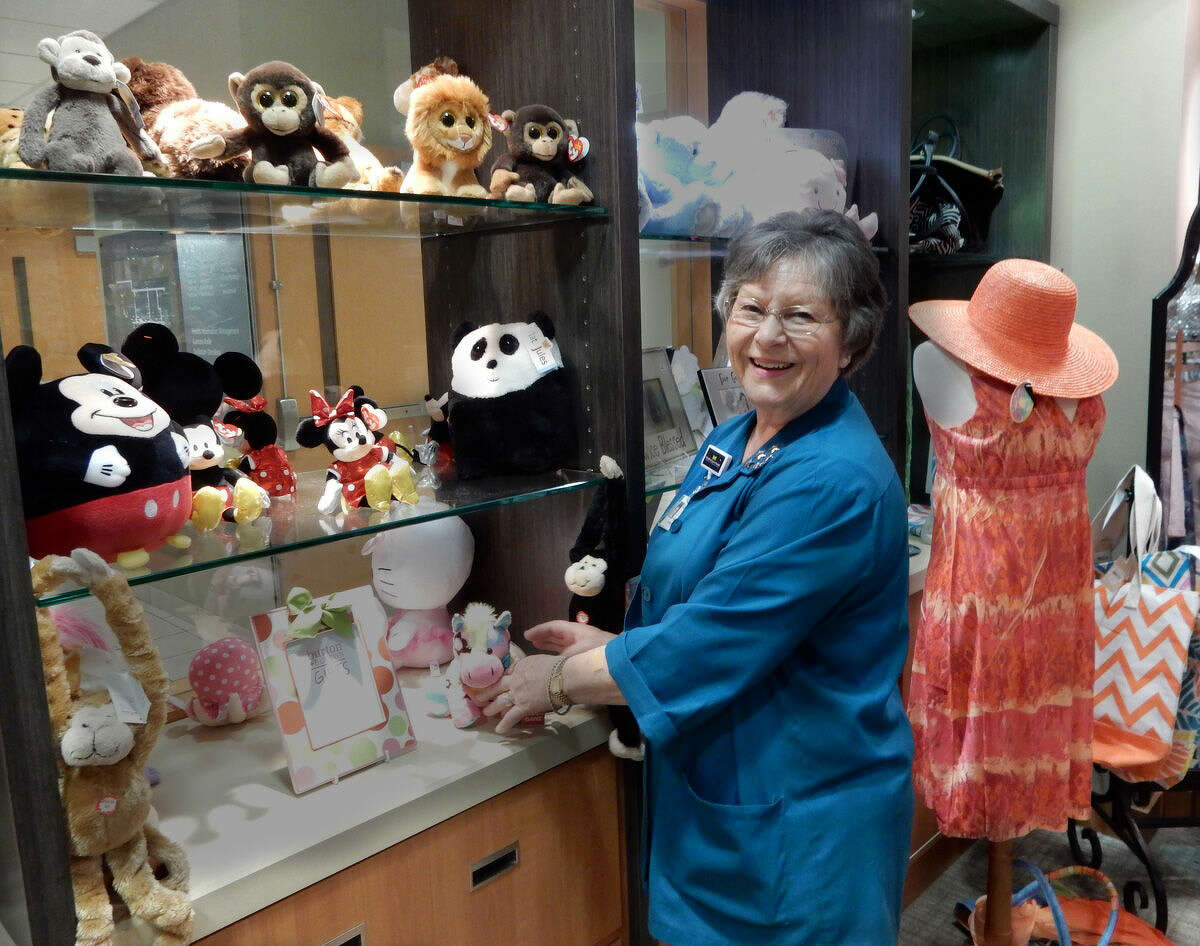 Pictured is Carolyn Graham, chair of the MidMichigan Medical Center-Midland Gift Shop.